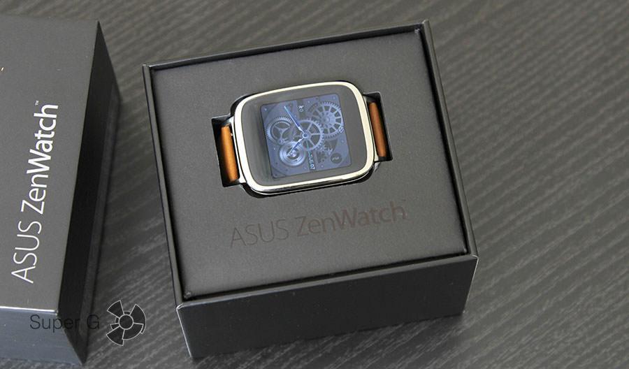 Комплектация Asus Zenwatch