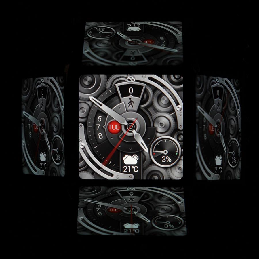 Дисплей Asus Zenwatch в темноте