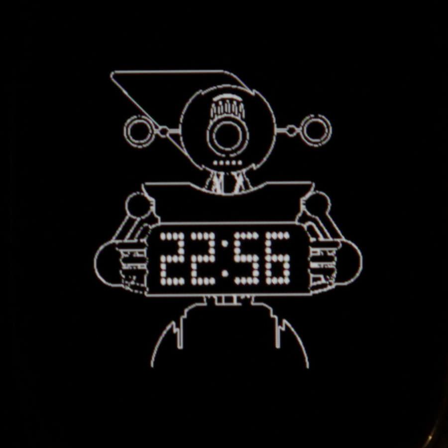 Дисплей Asus Zenwatch в спящем режиме