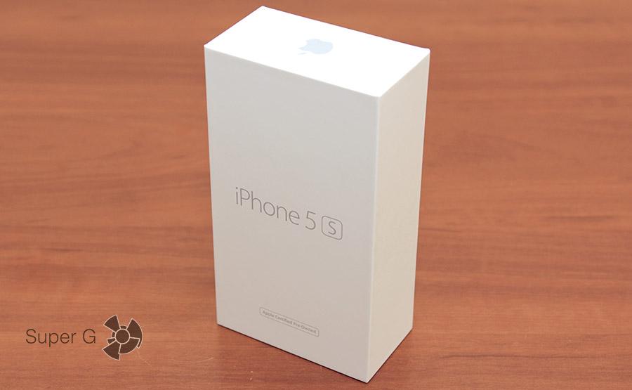 Коробка iPhone 5S как новый