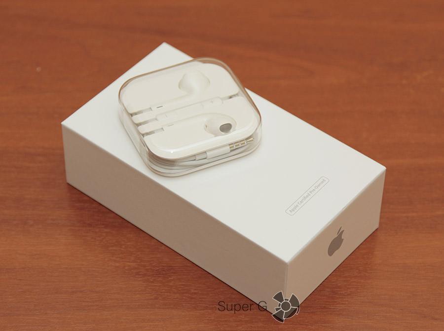 Комплектация iPhone 5S как новый