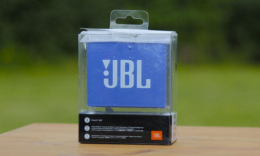 Коробка или упаковка JBL GO