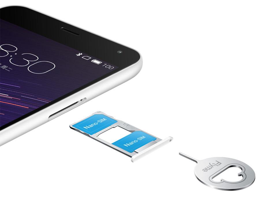 Meizu M2 Note две SIM-карты