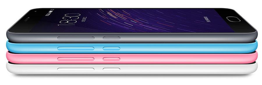 Meizu M2 Note Grey, Blue, Pink, White