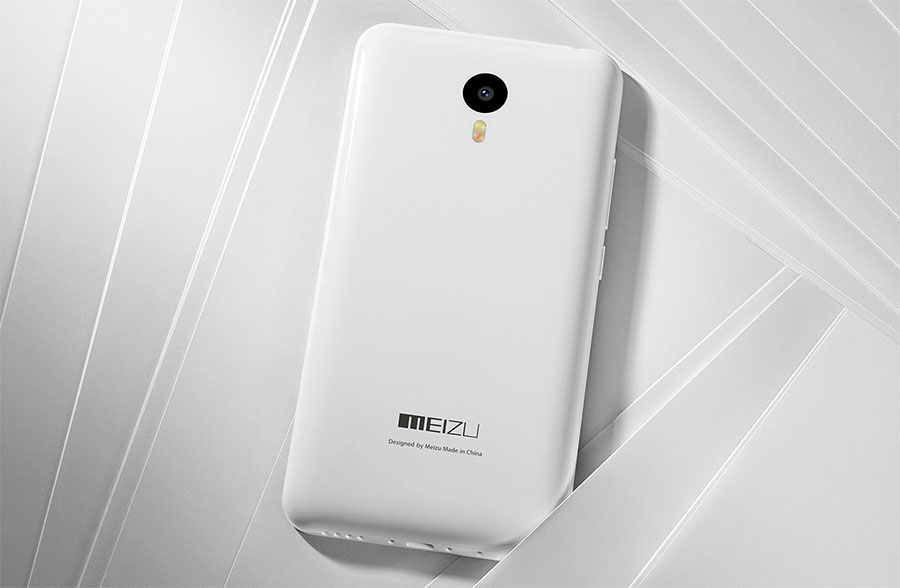 Meizu M2 Note White Белый