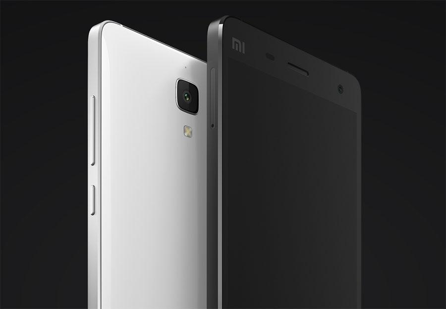 Xiaomi Mi4 черный и белый