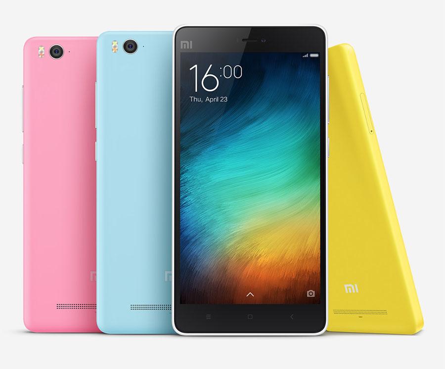 Xiaomi Mi4i Розовый, желтый, бирюзовый