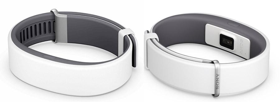 Белый ремешок для Sony SmartBand 2