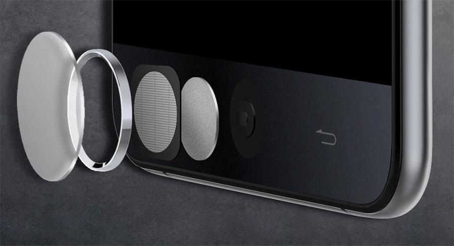 Сканер отпечатков пальцев Touch ID в Ulefone Be Touch 2