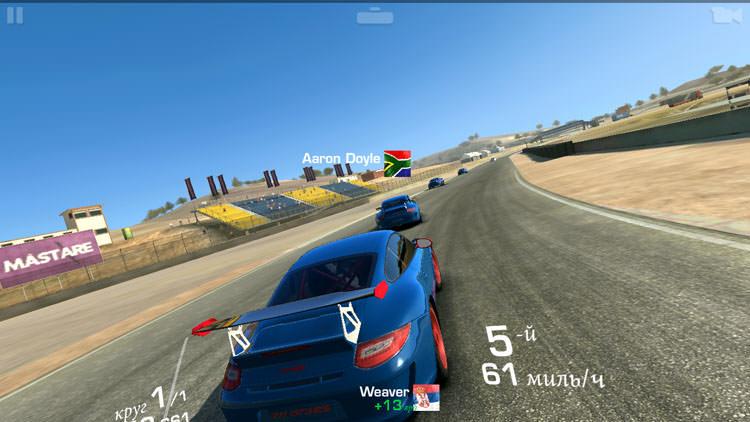Fly Tornado Slim в Real Racing 3