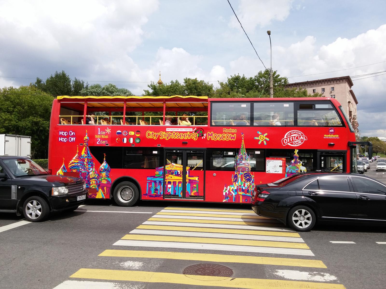 Туристический автобус (LG G3)