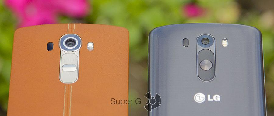 Сравнение камер LG G4 и G3