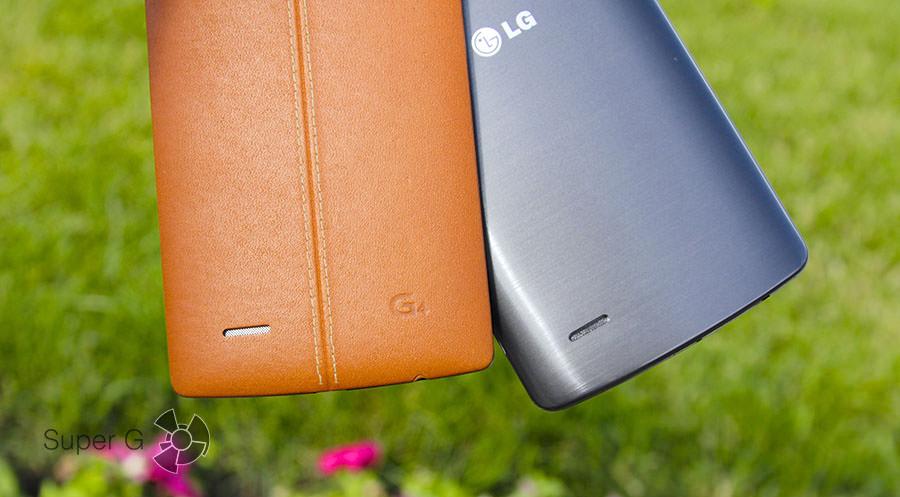 Динамики LG G3 и G4