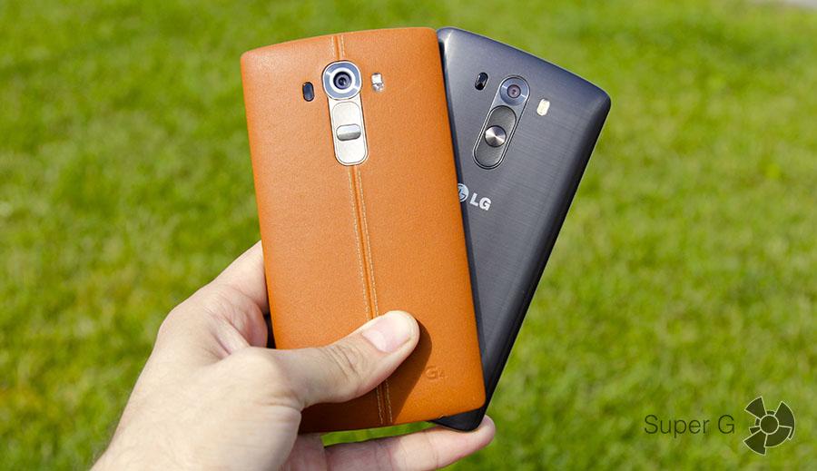 Какой смартфон выбрать? LG G4 или LG G3