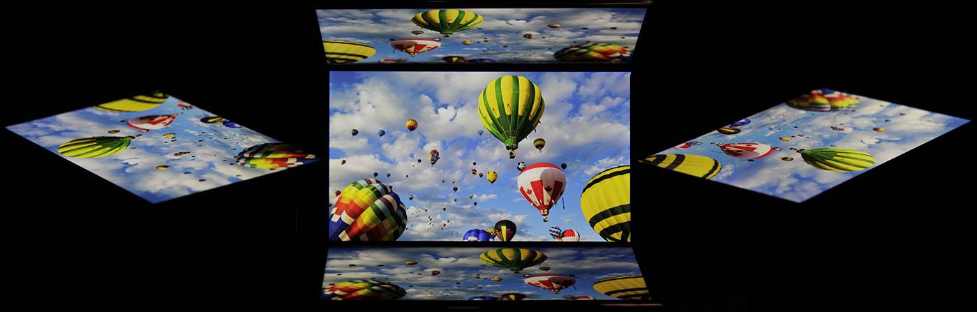 Углы обзора дисплея Fly Nimbus 4