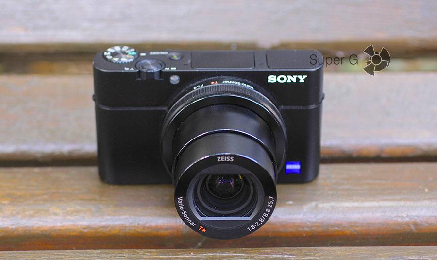 Телеположение объектива в Sony RX100M3