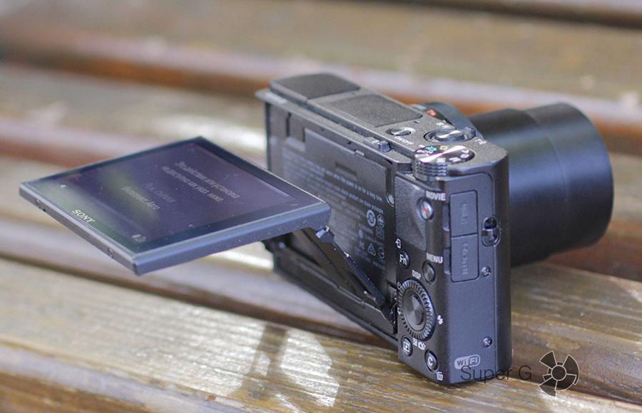 Поворотный дисплей камеры Sony RX100M3