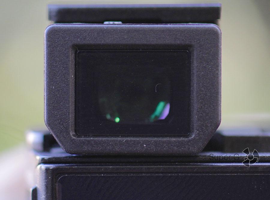 Видоискатель в Sony RX100M3