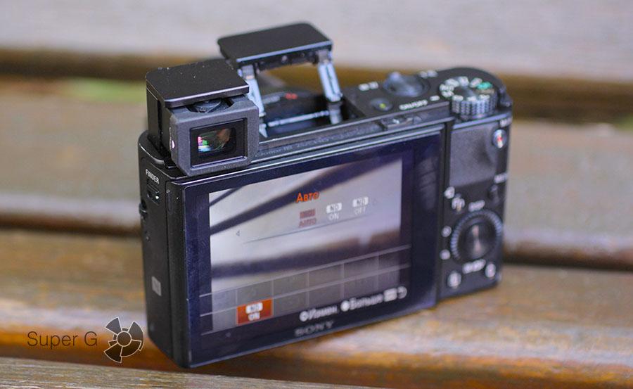 Sony RX100M3 в полной боевой готовности