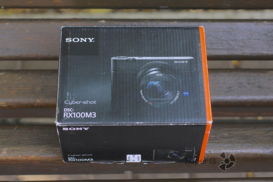 Коробка Sony RX100M3