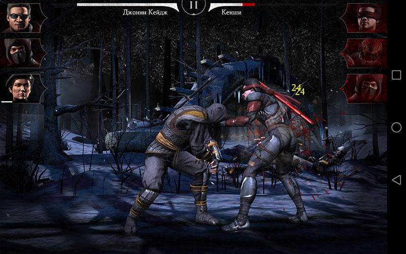Mortal Kombat X на Huawei MediaPad X2