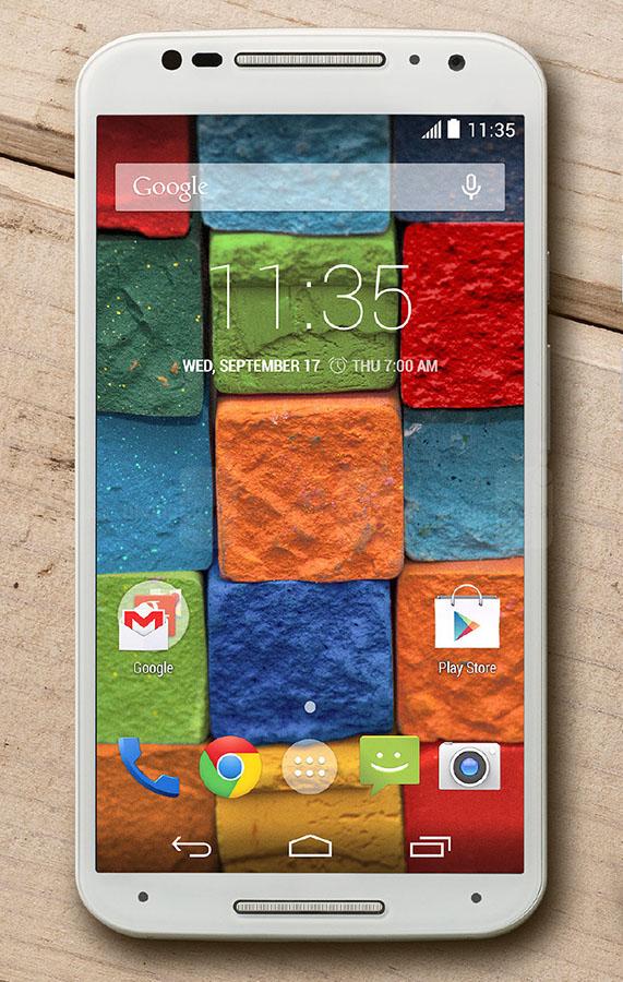 Интерфейс Motorola Moto X 2014