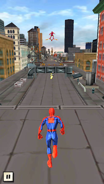 Совершенный человек-паук на Fly Nimbus 4