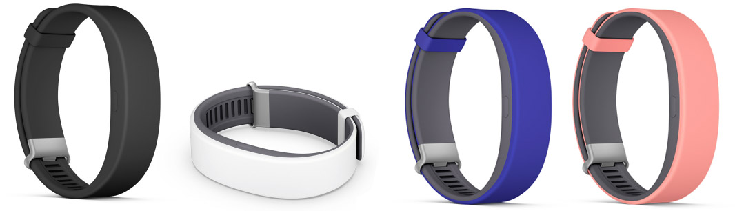Sony SmartBand 2 Colors Цвета