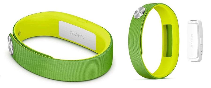Sony SmartBand swr10 зеленый