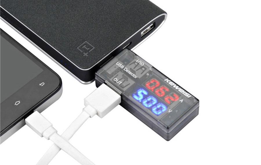 USB-тестер аккумулятора и силы тока