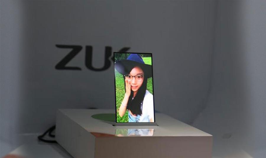 ZUK прозрачный смартфон 2