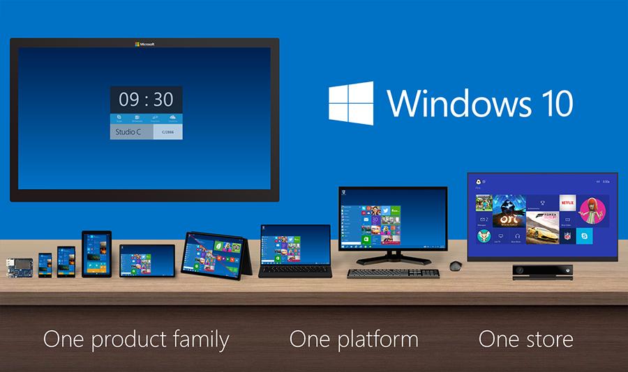 Windows 10 для всех платформ