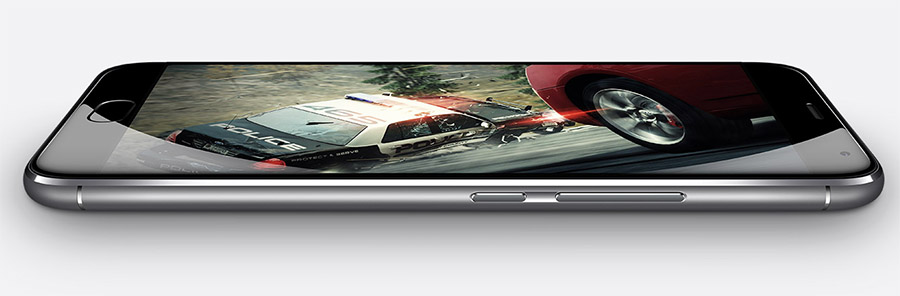 Боковые торцы Meizu MX5 Pro (кнопки)