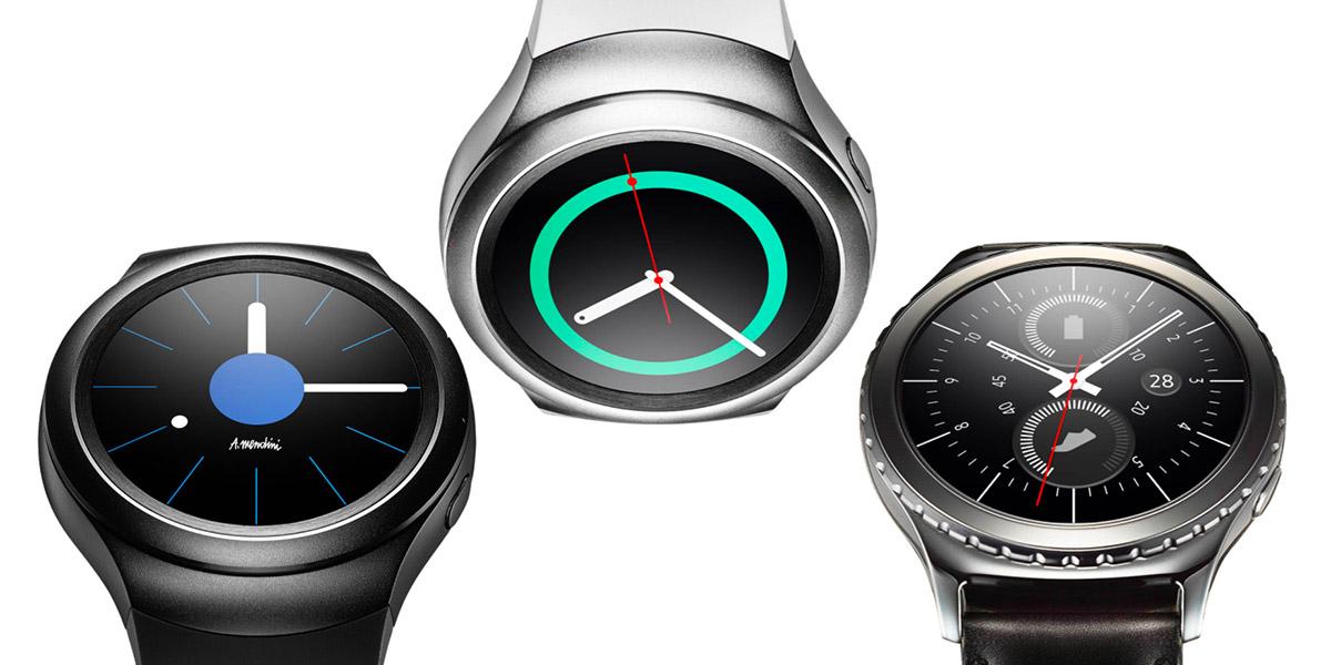 Все модели Samsung Gear S2 и Samsung Gear S2 Classic