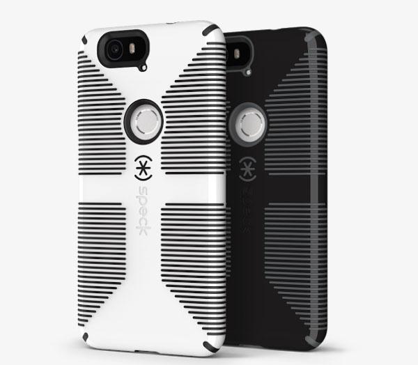 Прорезиненный чехол Speck CandyShell Grip Case для Nexus 6P за 45 евро
