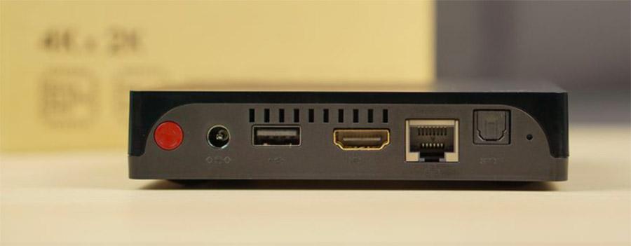 Разъемы и интерфейсы Beelink i68 TV Box 4K