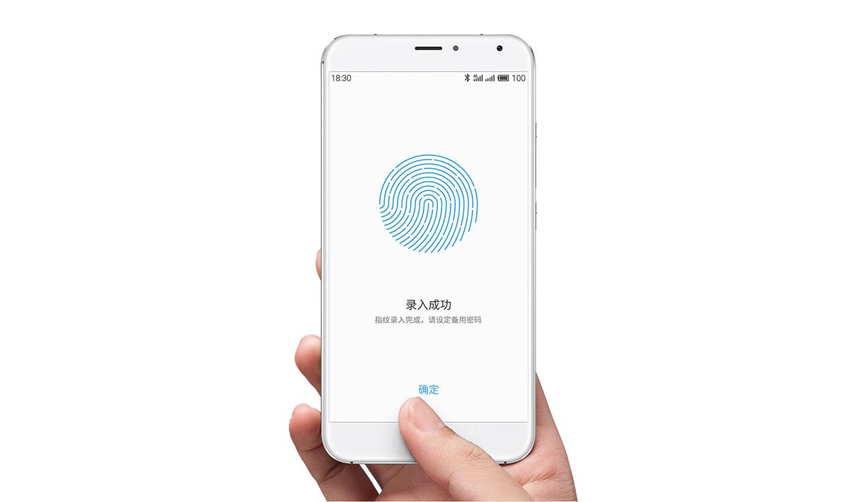 Сканер отпечатков пальцев mTouch 2.1 в Meizu MX5 Pro копия