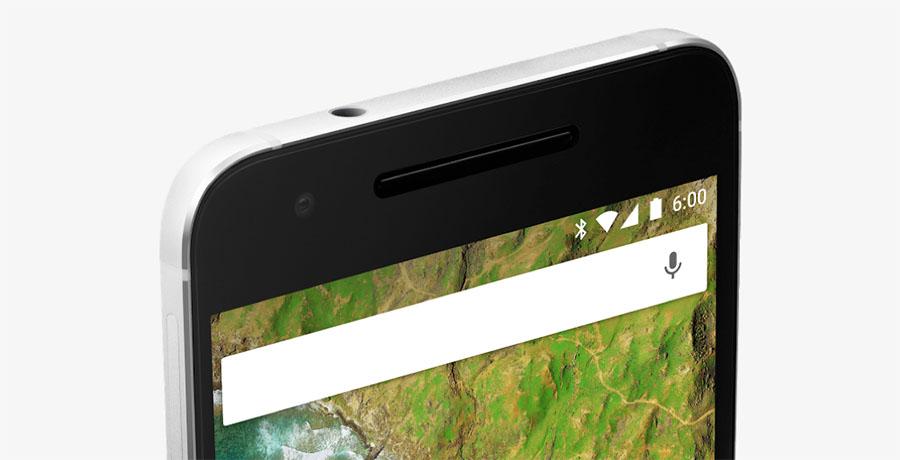 Фронтальная камера Google Nexus 6P