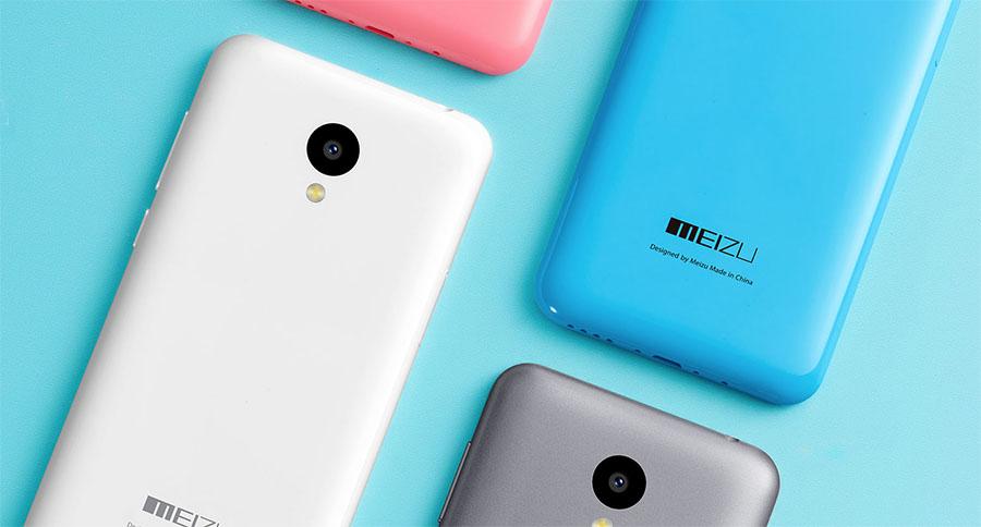 Цвета корпуса Meizu M2 mini