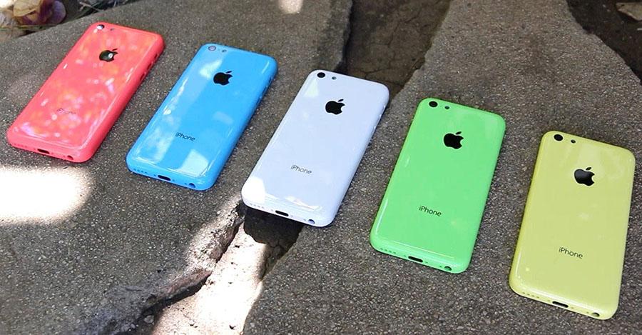 Цвета iPhone 5C который похож на Meizu M2 mini