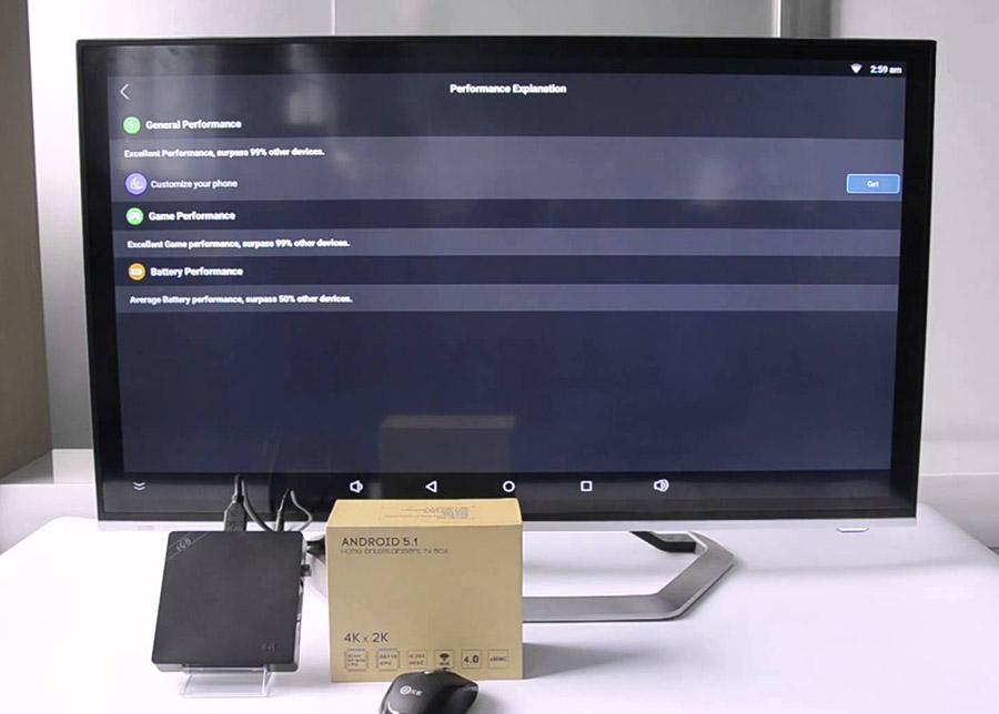 Beelink i68 TV Box 4K подключение к телевизору ТВ
