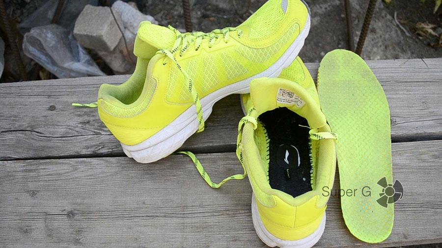 Материалы и качество кроссовок Li-Ning Smart