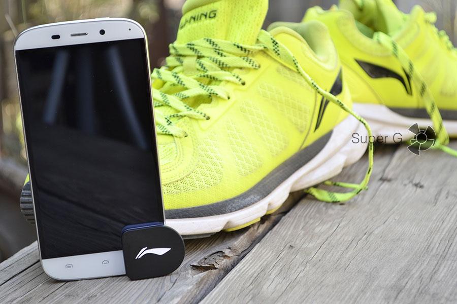 Умное приложение для смартфона и кроссовок Li-Ning Smart