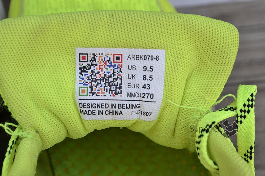 Размеры кроссовок Li-Ning Smart