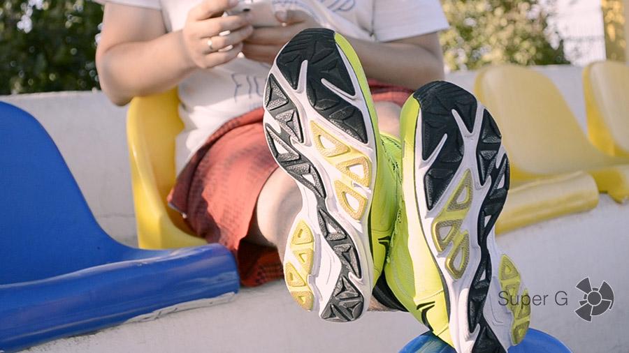 Подошва умных кроссовок Li-Ning Smart