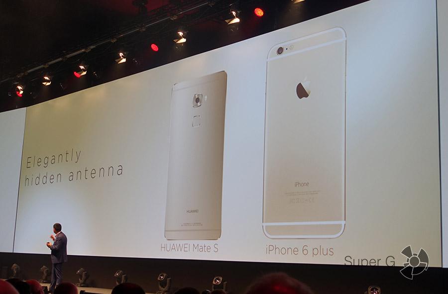 Сравнение Huawei Mate S и iPhone 6 Plus