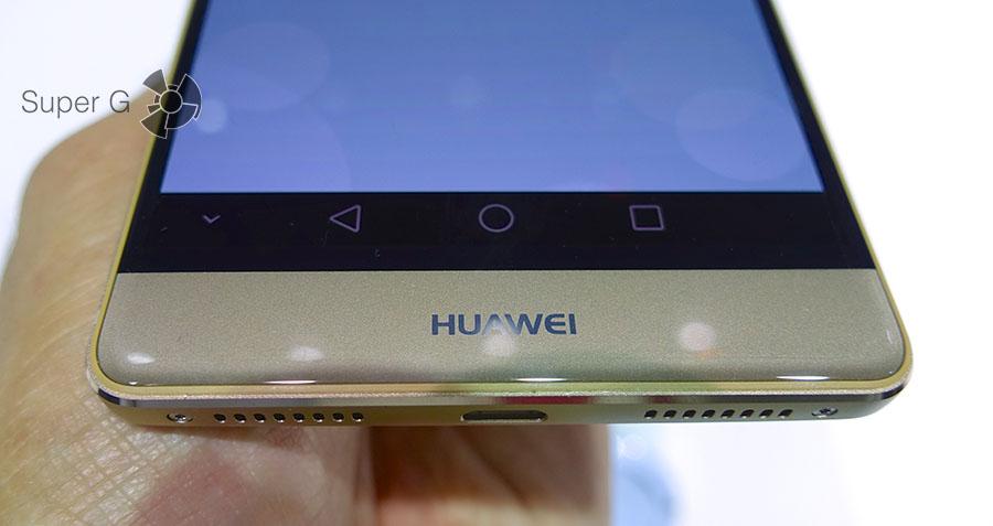 2.5D стекло в Huawei Mate S