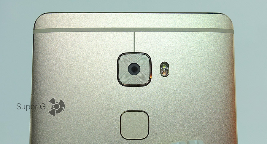 Камера, вспышка и сканер отпечатков пальцев в Huawei Mate S