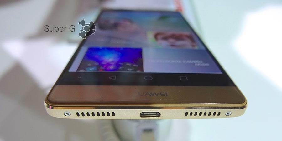 Huawei Mate S имеет два динамика