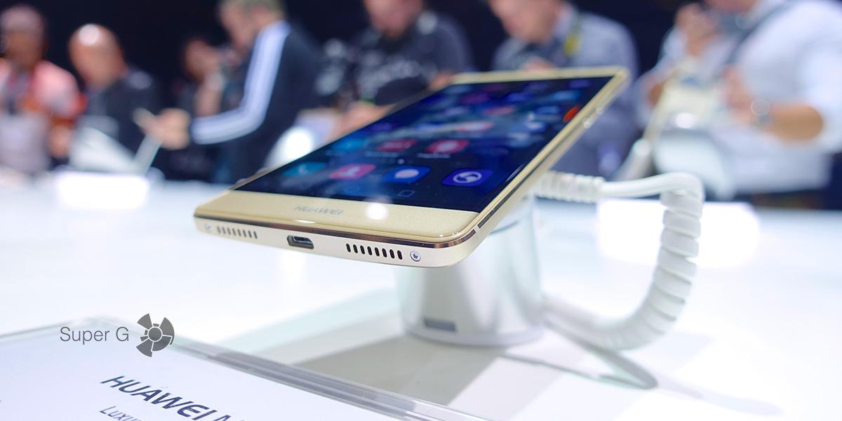Первый взгляд и обзор смартфона Huawei Mate S